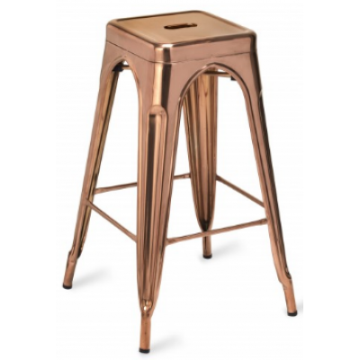 Zafra Polished High Stool