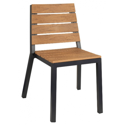 Reese Wood Effect Side Chair