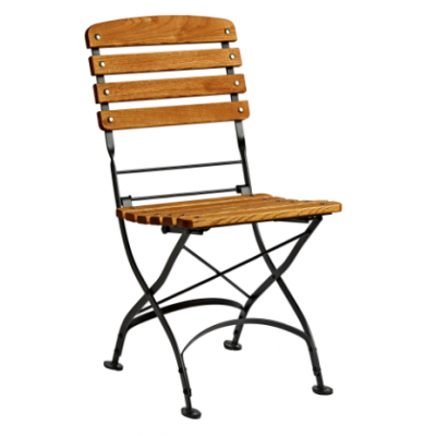 Lily Wooden Outdoor Folding Restaurant Chair