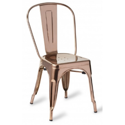 Zafra Polished Side Chair