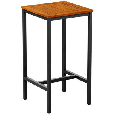 Lucy Robinia Wood Outdoor High Bar Table