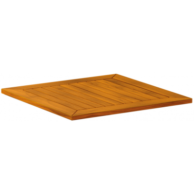 Solid Robinia Outdoor Wood Table Top