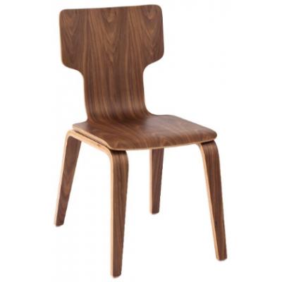 Alaska Walnut Bistro Chair