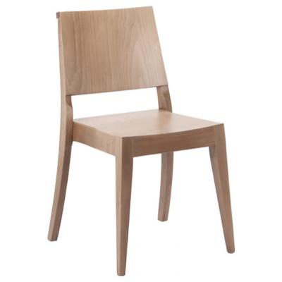 Arras Stacking Veneer Restaurant Chair