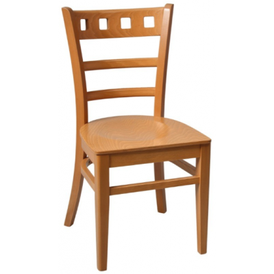Montreal Wooden Restaurant Chair
