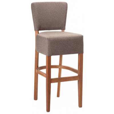 Paris Restaurant Fully Upholstered High Stool