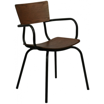Rio Industrial Style Arm Chair