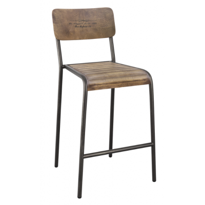 Kent Industrial Stacking Bar Stool