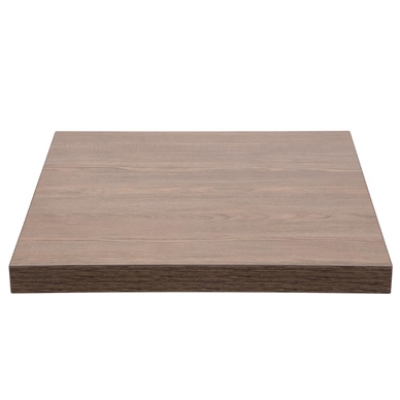 Vintage Wood Effect Square Top