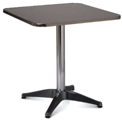 Sale - Outdoor 700mm Square Aluminium Table