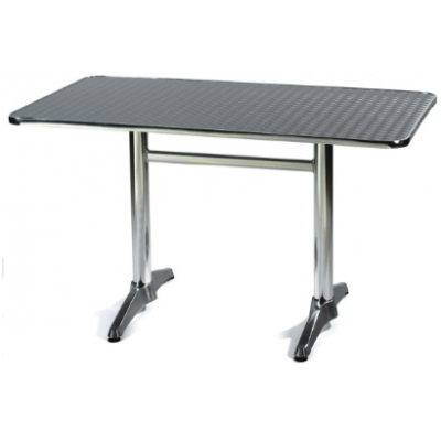 Sale - Outdoor  1200 x 700mm Aluminium Table