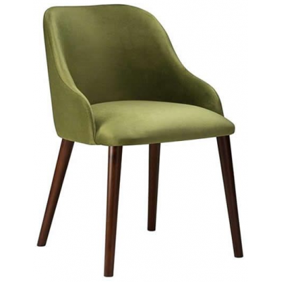 Emerald Restaurant Fully Upholstered Arm Chair