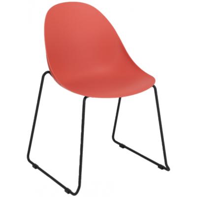 Star Polypropylene Skid Frame Chair