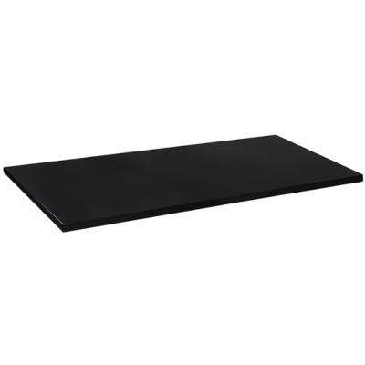 Black Rectangular Laminate Table Top