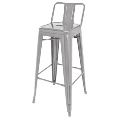 Bold Indoor or Outdoor Stacking High Stool