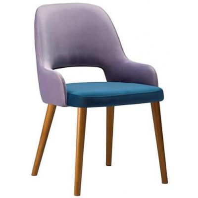 Glee Restaurant Fully Upholstered Arm Chair