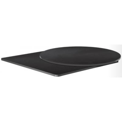 Black Laminate Table Top