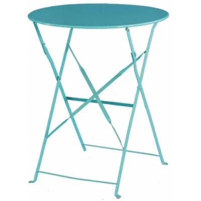 Edgworth Coloured Round Pavement Style Table