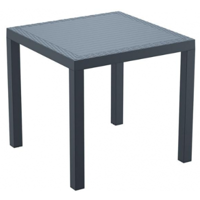 Gina Grey Outdoor Square Table