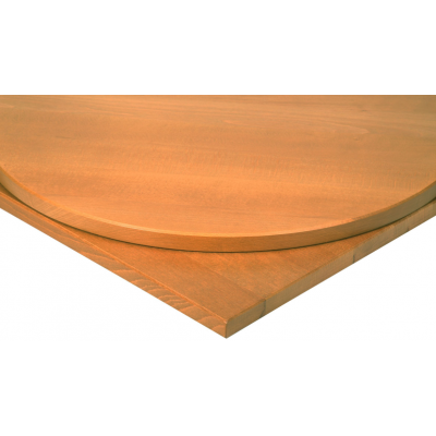 Solid Wood Square Oak Top