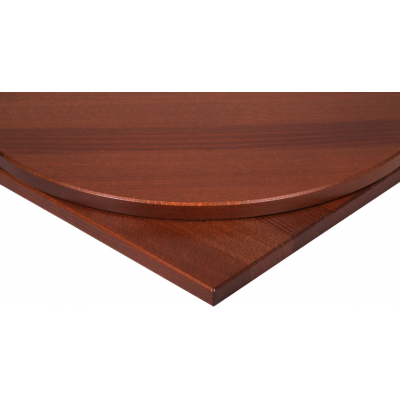 Solid Wood Rectangular Walnut Top
