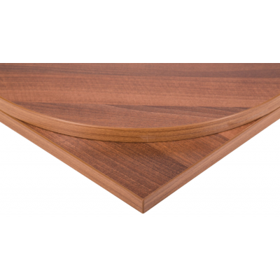 Square Walnut MFC Top