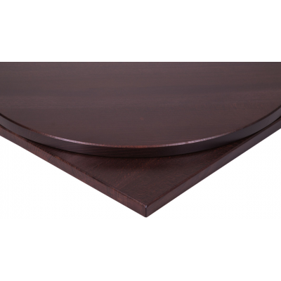 Solid Wood Square Wenge Top