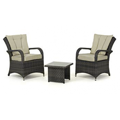 Maze Rattan - Texas 3 Piece Lounge Set