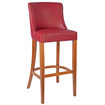 Como Upholstered Restaurant Bar Stool