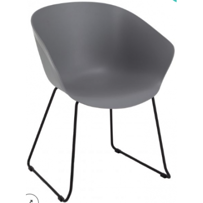 Lakeside Skid Based Bistro Chair