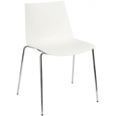 Faro Polypropylene 4 Leg Bistro Chair