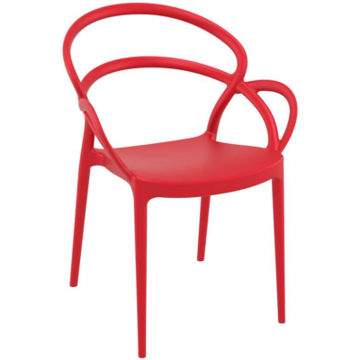 Miles Polypropylene Bistro Chair