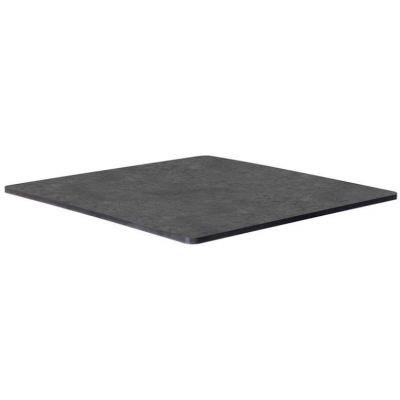 Metallic Anthracite Laminate Indoor or Outdoor Table Top - pre drilled