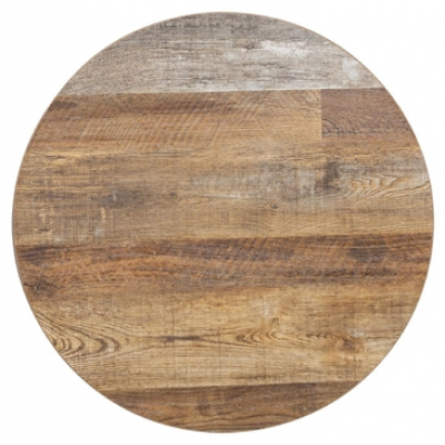 Rustic Urban 48mm Thick 600mm Round Top (Pre-Drilled)