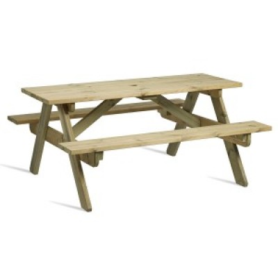 Hereford 8 Seater Picnic Table