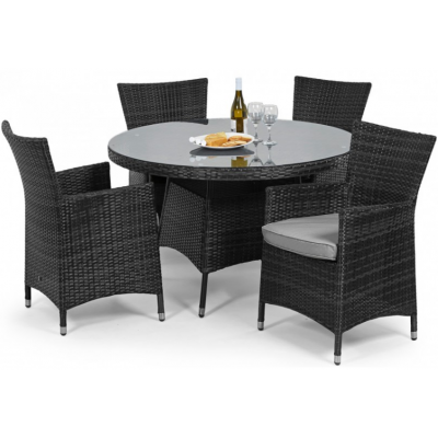 New York 4 Seat Dining Set