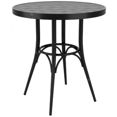 Zara Distressed Round Indoor or Outdoor Table