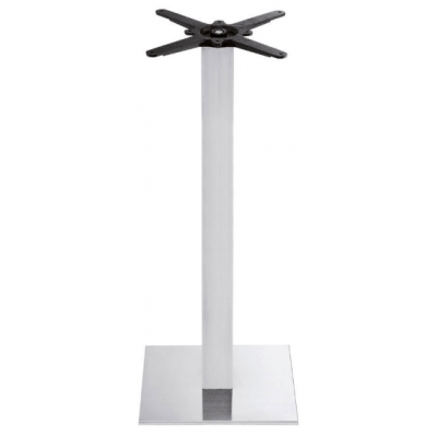 Brushed Steel Poseur Height Base