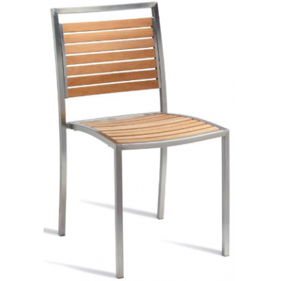 Barbara Teak Outdoor Side Chair