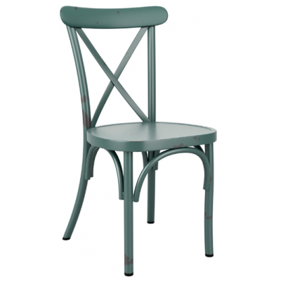 Zara Distressed Cafe Chair