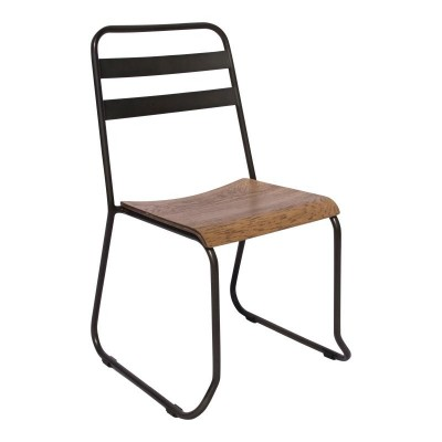 Pavia Industrial Stacking Chair
