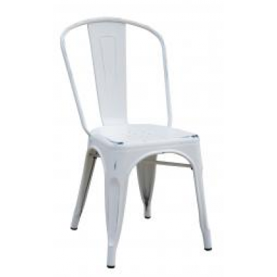 Colmar Distressed Stacking Bistro Chair