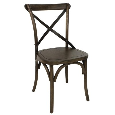 Alfreton Dark Oak Wood Restaurant Chair