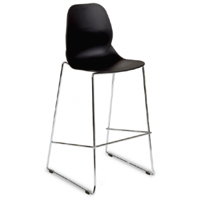 Denia Sled Base Bar Stool