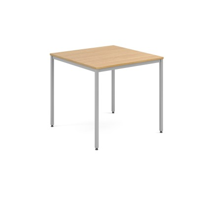 Canteen Table 800Sq Silver