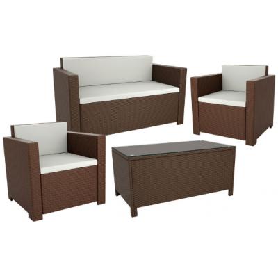 Gabby Brown 4 Piece Sofa Set