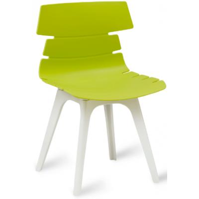 Ramone White Base Plastic Cafe Chair