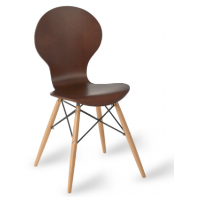 Villena Wood Framed Cafe Chair