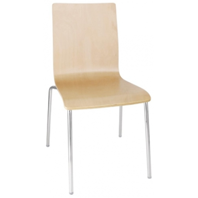 Claire Veneer Cafe Side Chair