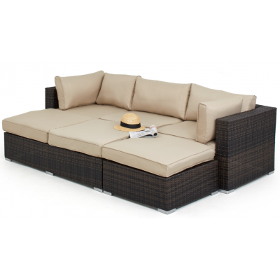 Diaz Outdoor Corner Sofa Set